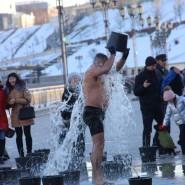 Открытие сезона зимнего плавания в Тюмени 2017 фотографии