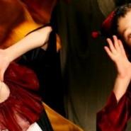 Воздушно-акробатический спектакль «Сказка о потерянной минутке» фотографии