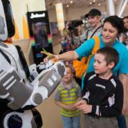 Выставка роботов «Робополис» фотографии