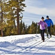 Бесплатный прокат лыж и коньков фотографии