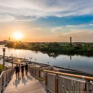 Набережная реки Туры фотографии