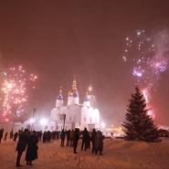 Праздник Рождества в Тюмени 2018 фотографии