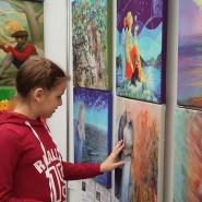 Выставка тактильных картин «Видеть невидимое» фотографии