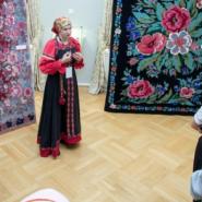 Выставка «Сибирский ковёр» в Музейном комплексе имени И. Я. Словцова фотографии