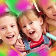 Большой детский праздник в ТРК Остров» фотографии