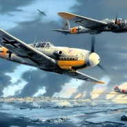 Выставка «Самолеты мировых войн» фотографии