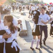 Общегородской выпускной «Вальс на набережной» 2017 фотографии