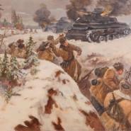 Выставка «Память поколений: Великая Отечественная война в изобразительном искусстве» в Тюмени фотографии