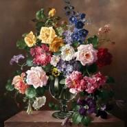 Выставка «Цветы нам дарят вдохновенье» фотографии