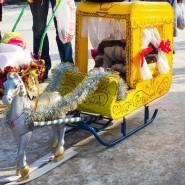 Городской конкурс «Парад саней» 2017 фотографии