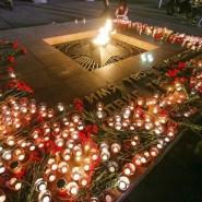 Акция «Свеча памяти» в Тюмени 2019 фотографии