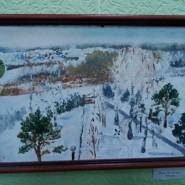 Выставка картин Ольги Даниловой-Пушкарь фотографии