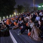 Акция «Ночь кино» в Тюмени 2018 фотографии