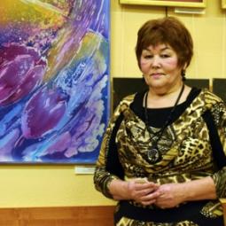 Выставка художницы Альфеи Мухаметовой