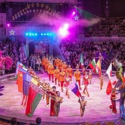 Международная цирковая программа в Тюменском цирке