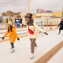 Катки в Тюмени зима 2021