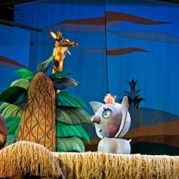 Спектакль «Сказка про слона и крокодила»