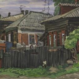 Мини-выставка картин Юрия Рыбьякова в Литературно-краеведческом центре