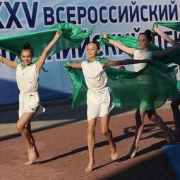 Всероссийский олимпийский день в Тюмени 2017
