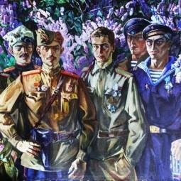 Выставка  «Живём и помним»