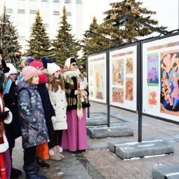 Уличная выставка «Путешествие в сказку П. П. Ершова. Чудо-книжка «Конек-Горбунок»