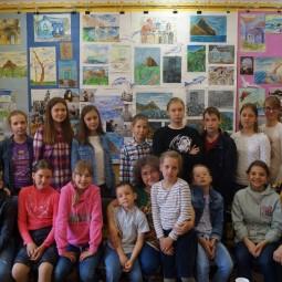 Выставка работ юных художников «Крымские каникулы»