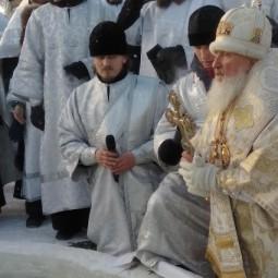 Праздник Крещения в Тюмени 2019