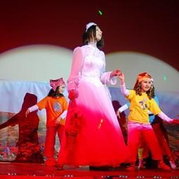 Детский мюзикл «Новогодние приключения белоснежки»