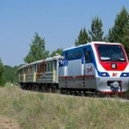 Открытие сезона Детской железной дороги 2017