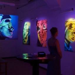 Выставка ультрафиолетовой живописи «Преображение»