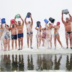 Открытие сезона зимнего плавания в Тюмени 2017