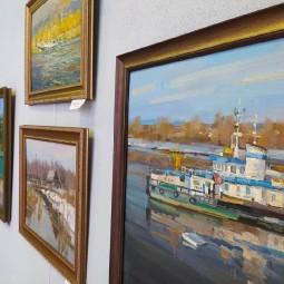 Выставка тюменского художника Александра Васильева
