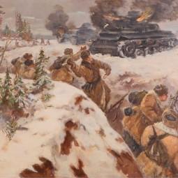 Выставка «Память поколений: Великая Отечественная война в изобразительном искусстве» в Тюмени