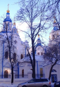 Знаменский кафедральный собор города Тюмень