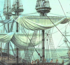 Выставка «Про Петра и флот»
