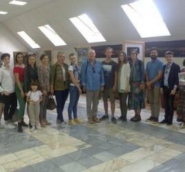 Выставка «Творчество молодых»