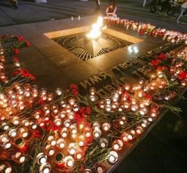 Акция «Свеча памяти» в Тюмени 2019