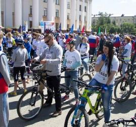 Всероссийский велопарад в Тюмени 2018