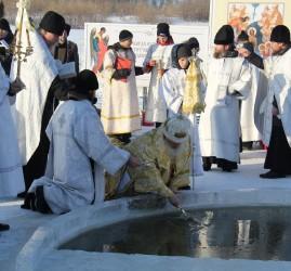 Крещенские купания в Тюмени 2018