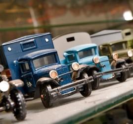 Выставка «Моделей автомобилей 1920-1950 годов»