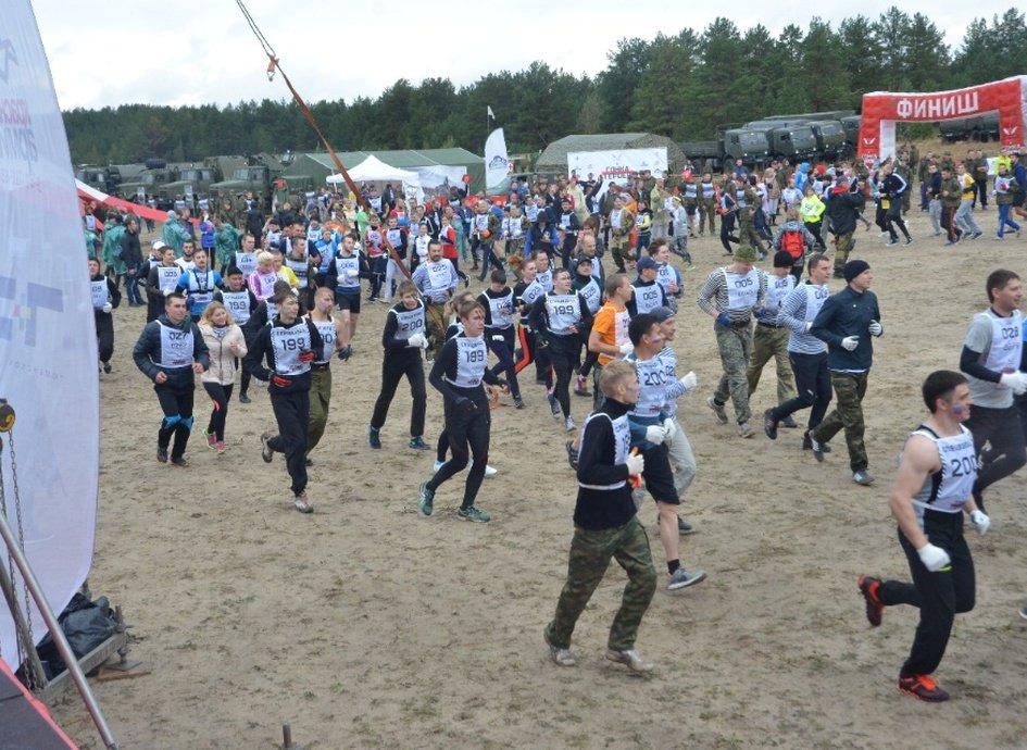 Спортивно-массовое событие «Гонка Героев» 2017