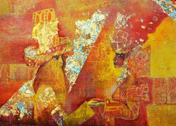 Выставка уфимской художницы Ольги Самосюк