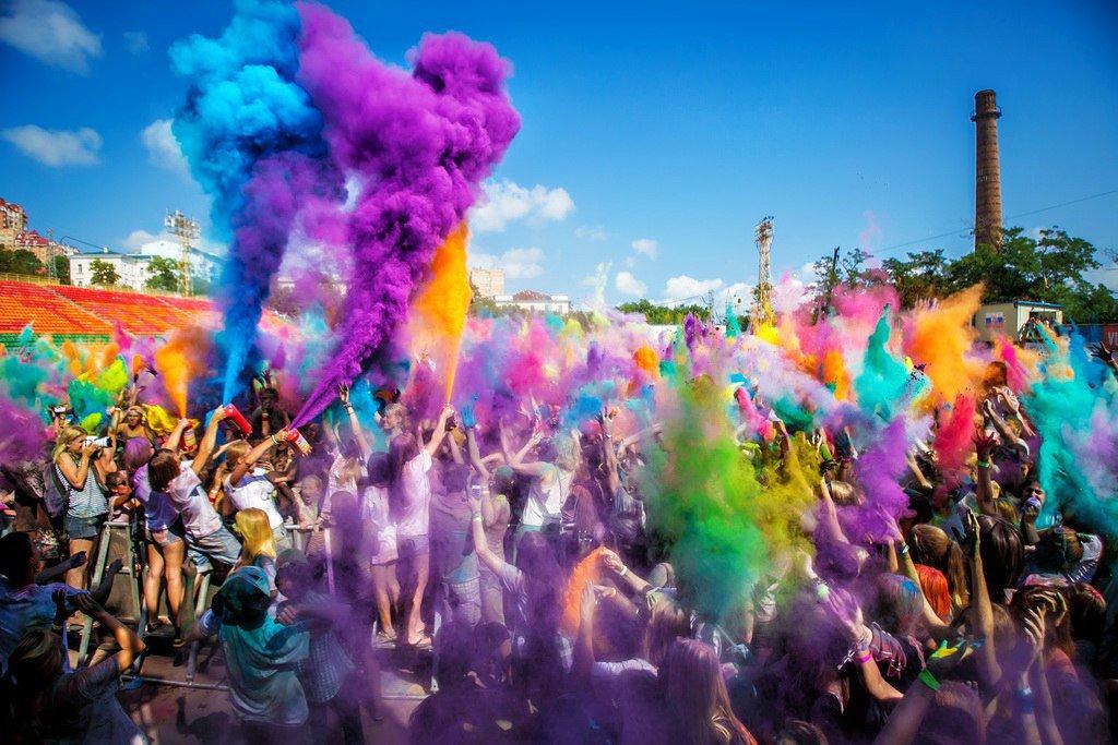 Картинки по запросу фестиваль красок тюмень
