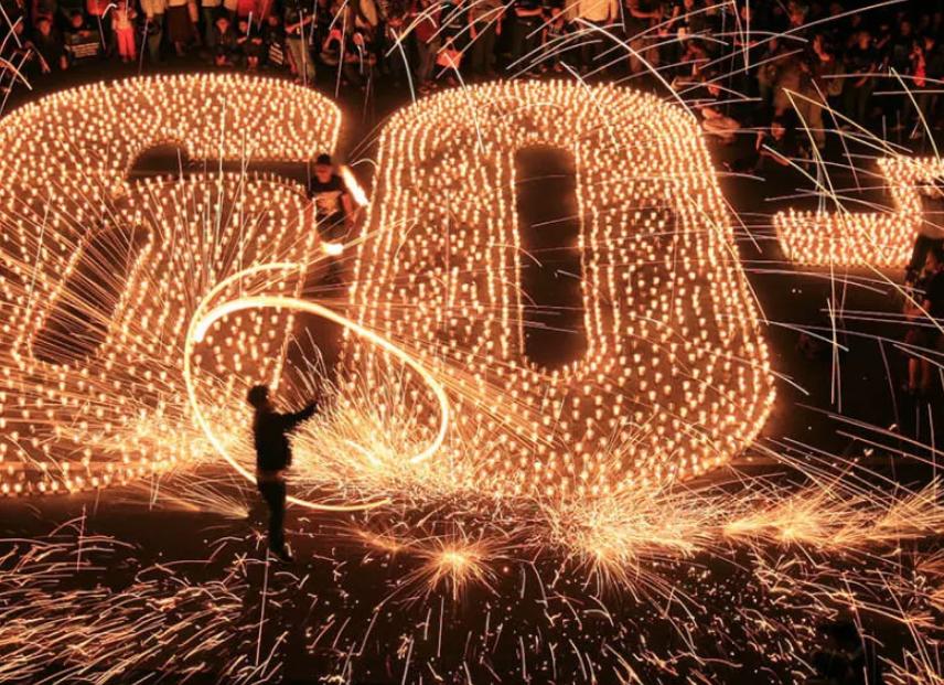 Акция «Час земли» вИсторическом парке «Россия— Моя история» 2019