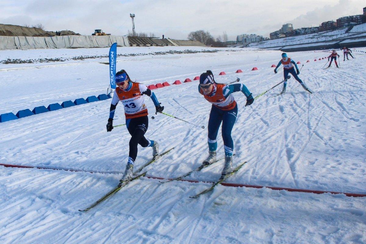 Лыжный марафон наТуре 2021