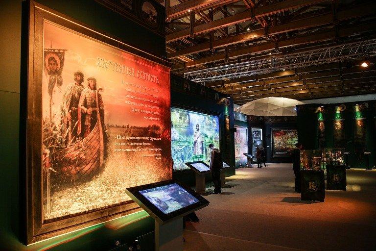 Мультимедийная выставка «Имена изсолдатских медальонов»