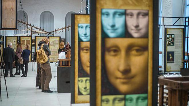 Выставка «Леонардо даВинчи»