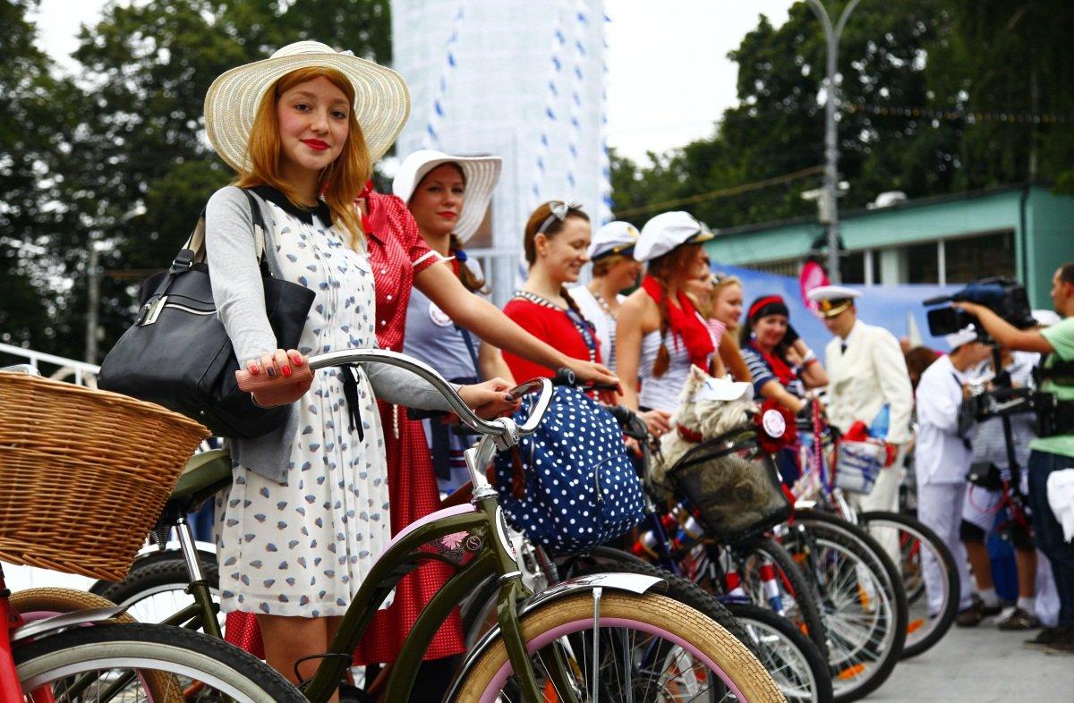 Велопарад «Леди навелосипеде» вТюмени 2017