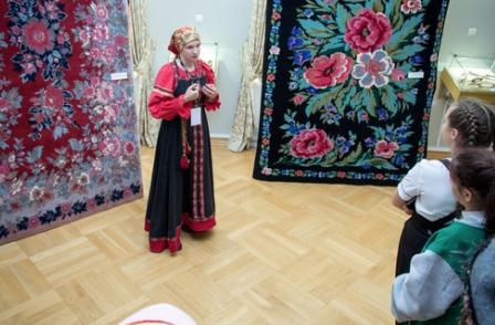 Выставка «Сибирский ковёр» вМузейном комплексе имени И. Я. Словцова