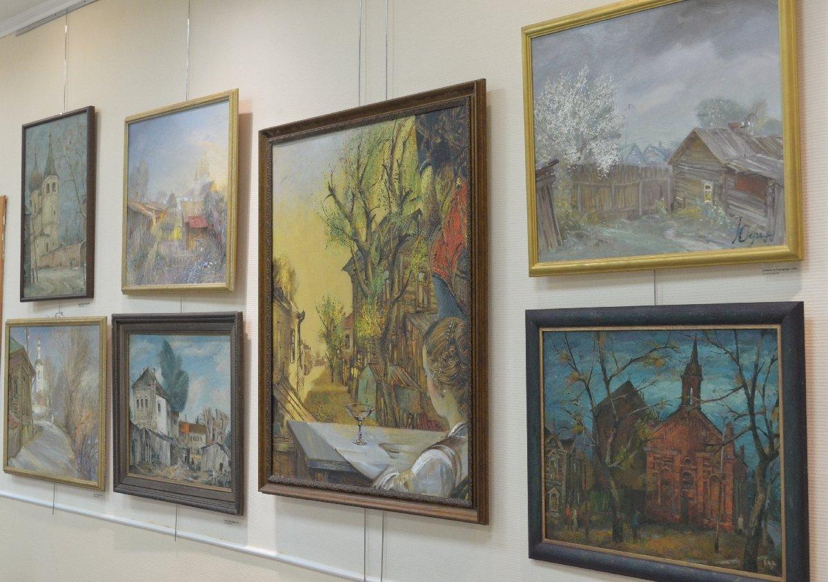 Открытие арт-салона «На Никольской» вЦентральной городской библиотеке